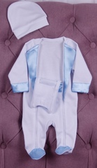 Нарядный костюм для малыша Смокинг голубой