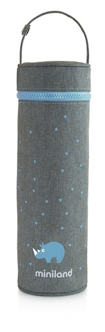 Miniland Silky Термо-сумка для бутылочек, розовый, 500 мл