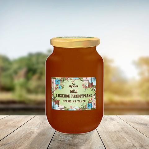 Мёд Таёжное разнотравье