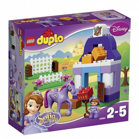 LEGO Duplo: София Прекрасная: королевская конюшня 10594 — Sofia the First Royal Stable — Лего Дупло
