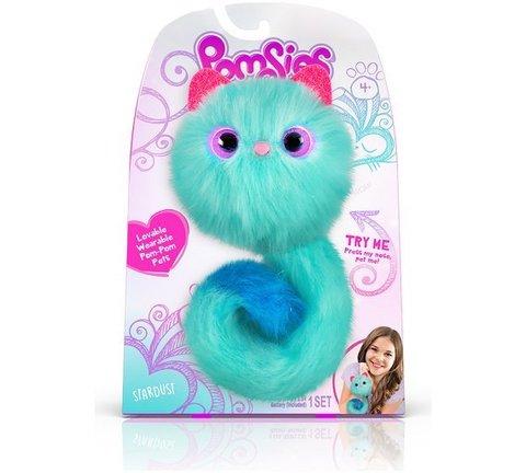 Pomsies Stardust, бирюзовый котенок Помси оригинал