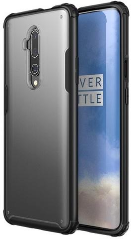 Чехол на OnePlus 7T Pro прозрачный корпус, серия Ultra Hybrid от Caseport