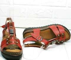 Красивые сандали женские натуральная кожа Rifellini Rovigo 375-1161 Rad.
