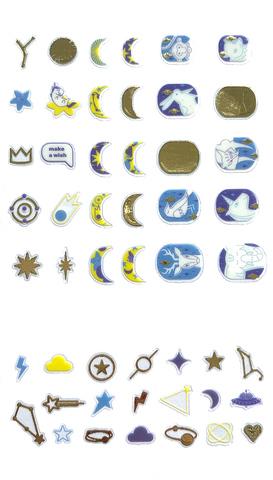 Декор для ногтей «Созвездия»