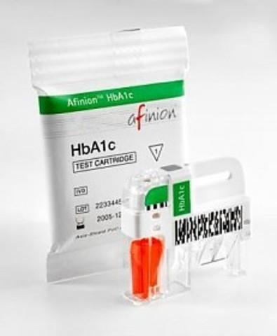 1115016 Набор для определения гликозилированного гемоглобина в крови (Afinion HbA1c),Afinion HbA1c тест-картридж 15 тестов