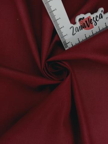 Ранфорс гладкокрашеный Бордовый
