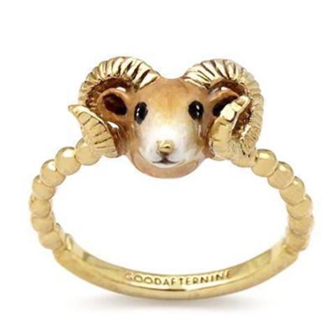 Мини-кольцо Овца