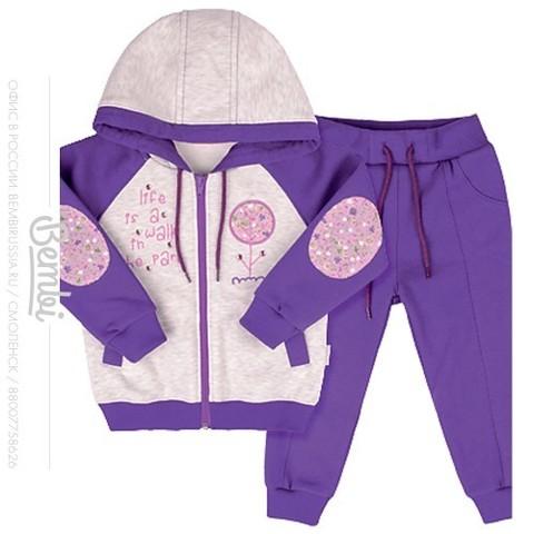КС492 Спортивный костюм для девочки с начесом
