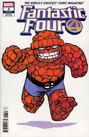 Fantastic Four №3 (Variant Cover by Skottie Young)