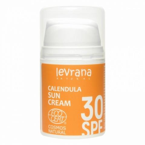 Солнцезащитный крем для тела Календула 30 SPF, 50мл, Levrana