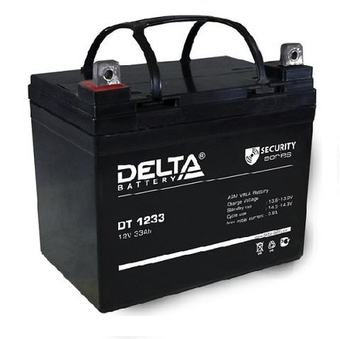 DT 1233 аккумулятор 12В/33Ач Delta