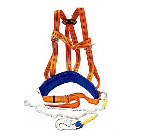 Страховочная привязь со стропом и наплечными лямками ЭКОНОМ ТИП-2