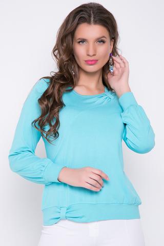 <p>Хитовая блузка ярких расцветок - Ваш фаворит этого сезона! Очень приятный турецкий трикотаж не оставит Вас равнодушной к выбору этой новинки.&nbsp;Длины: 46-54= 58см</p>