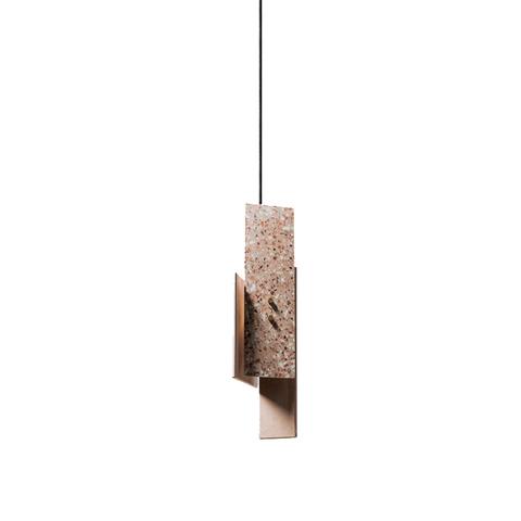 Подвесной светильник копия PIECE by Bentu Design (розовый)