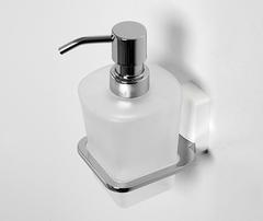 Дозатор для жидкого мыла WasserKRAFT Leine K-5099WHITE