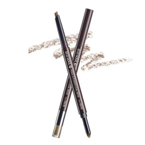 THE SAEM EYE Карандаш-пудра для бровей Eco Soul Pencil & Powder Dual Brow 01. natural brow 0,5гр*0,3гр