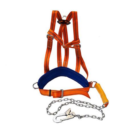 Страховочная привязь со стропом и наплечными лямками ЭКОНОМ ТИП-3