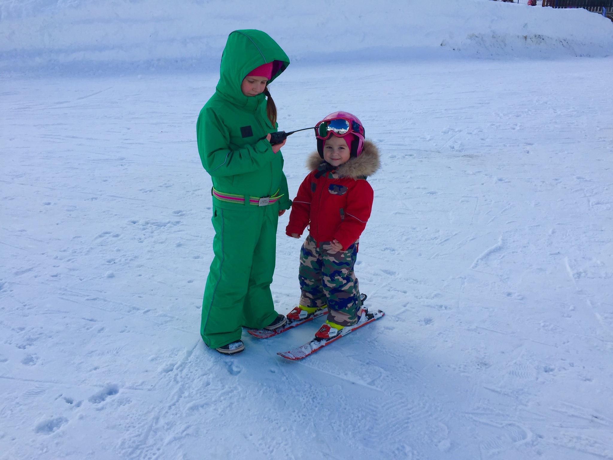 комбинезон детский зимний SASHA JUNIOR красный с милитари и зеленый
