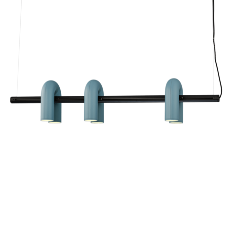 Подвесной светильник-трек Cirkus by AGO Lighting (синий)