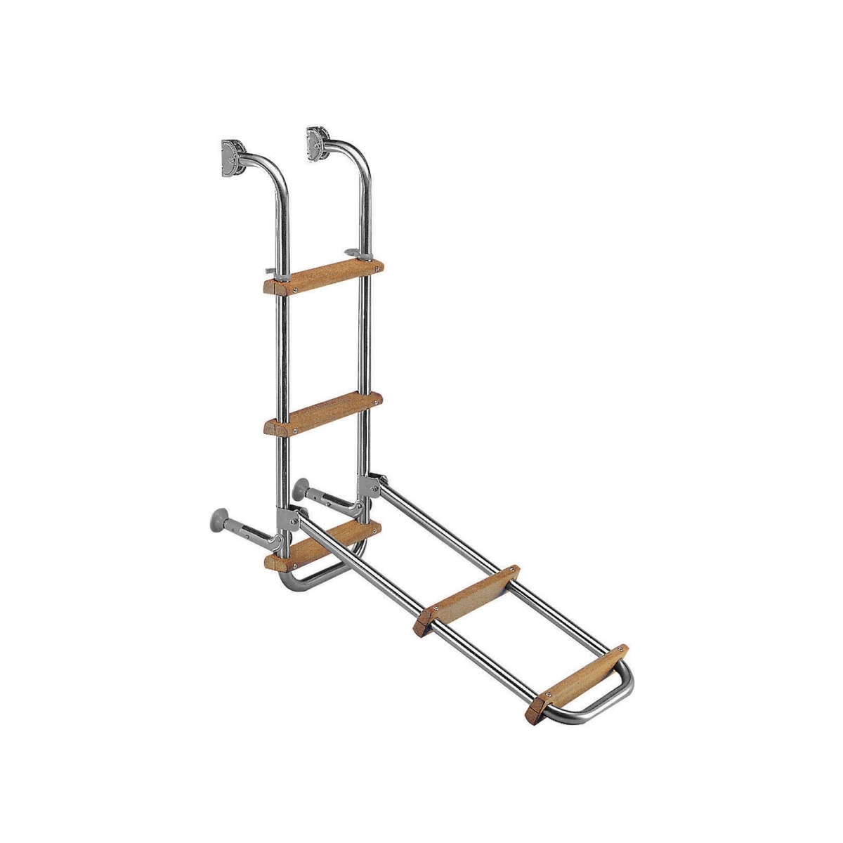 FOLDING LADDER FOR SMALL CRAFT