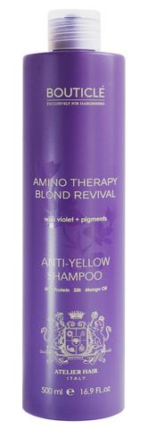 """Шампунь с анти-желтым эффектом для осветленных и седых волос - """"Anti-Yellow Shampoo"""" 500 мл"""