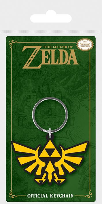 Брелок силиконовый The Legend Of Zelda (Triforce)