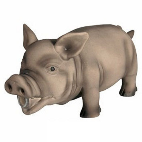"Trixiе 35491 Игрушка д/собак ""свинка пищащая"", латекс 23см"