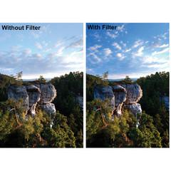 Поляризационный фильтр Fujimi Pro MC CPL на 55mm