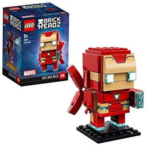 LEGO BrickHeadz: Железный человек MK50 41604 — Iron Man MK50 — Лего БрикХедз
