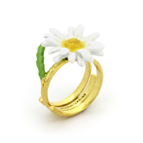 Кольцо Ромашка