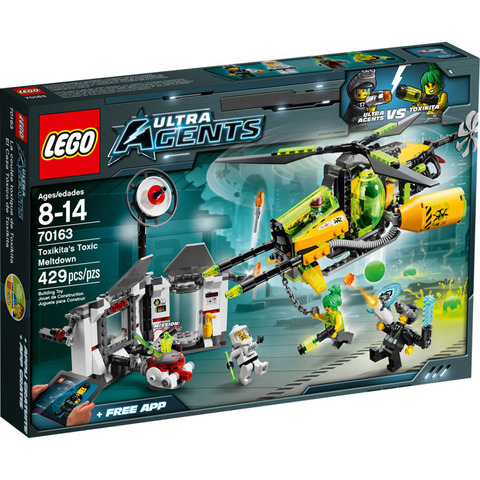 LEGO Ultra Agents: Ядовитое нападение Токсикиты 70163 — Toxikita's Toxic Meltdown — Лего Ультра Эджентс Ультра Агенты