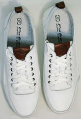 Кроссовки сникерсы мужские Faber 193909-3 White.