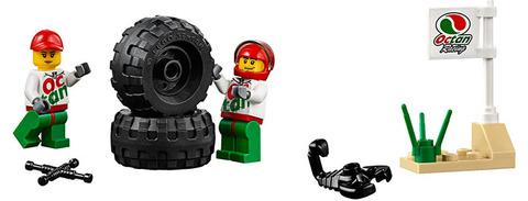 LEGO City: Внедорожник 4x4 60115 — 4wd Off Road Car — Лего Город