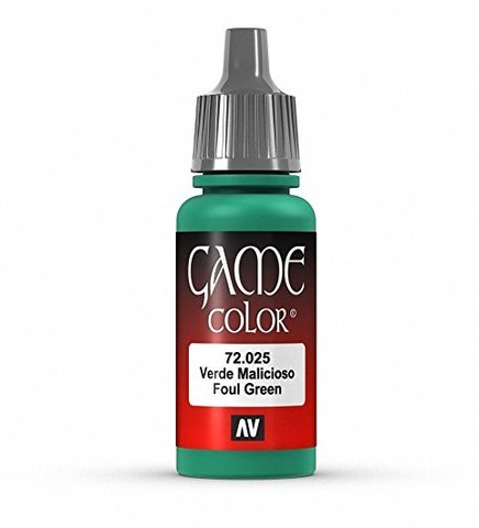 Game Color Foul Green 17 ml.