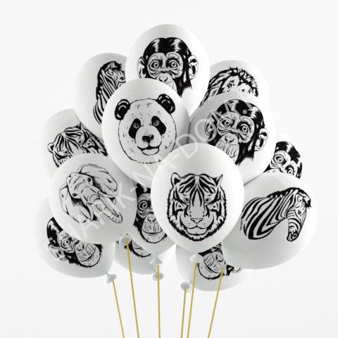 Шарики под потолок Воздушные шары Животные Воздушные_шары_животные_белые.jpg