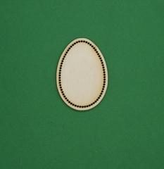 056-6686 Деревянная основа для вышивки, Яйцо по контуру