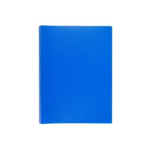 Скоросшиватель пластиковый с пружинным механизмом Attache А4 до 150 листов синий (толщина обложки 0.45 мм)