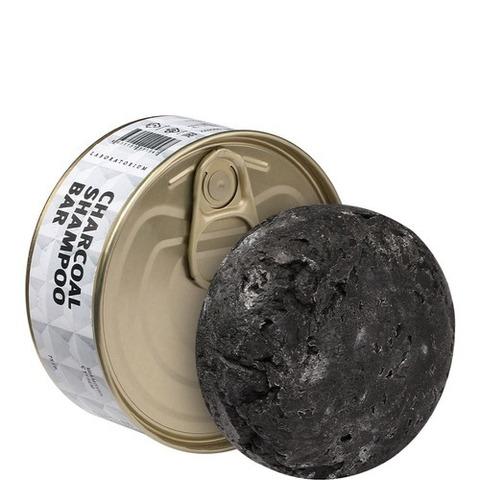 Твердый шампунь с углем для жирных волос, Labortorium