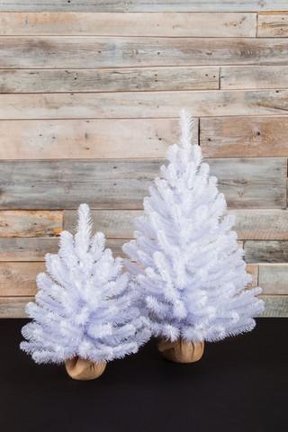 Искусственная елка Исландская 90 см в мешочке белоснежная