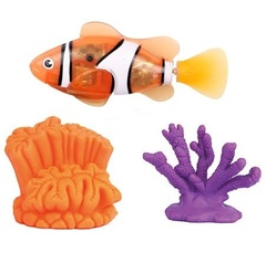 ROBOFISH РобоРыбка с 2 кораллами (2538)