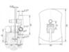 Смеситель встроенный для ванны/душа Migliore Opera ML.OPR-6072 схема