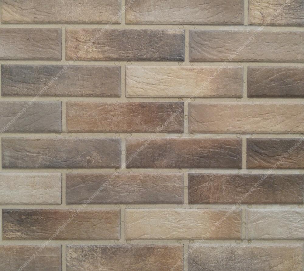 Cerrad Loft brick, Masala, 245x65x8 - Клинкерная плитка для фасада и внутренней отделки