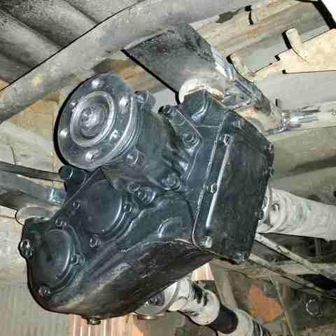Установка раздаточной коробки ГАЗ 66 на Соболь 4х4