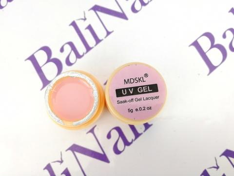 Гель моделирующий эластичный камуфляжный розовый