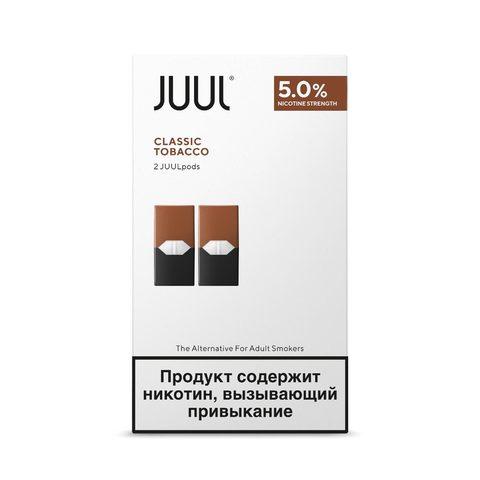 Сменный Картридж для JUUL. ДЖУЛ Табак х2, 0,7 мл 50 мг