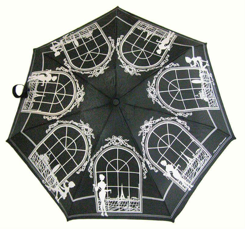 Зонт мини Chantal Thomass 403-nero Boudoir