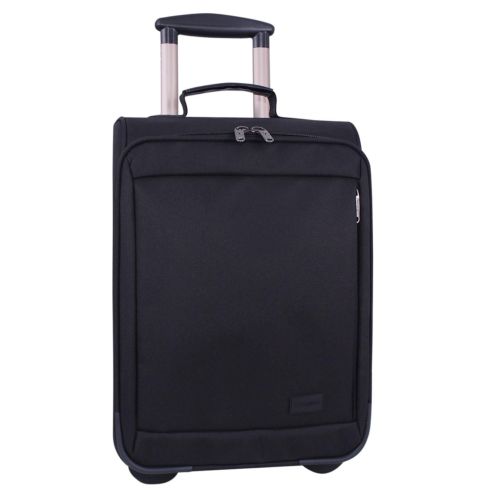 Дорожные чемоданы Чемодан Bagland Ambassador 27 л. Чёрный (003766617) IMG_5812-1600.jpg