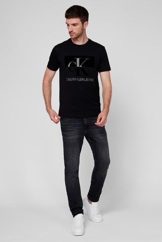 Мужские темно-серые джинсы CKJ 058 SLIM TAPER Calvin Klein