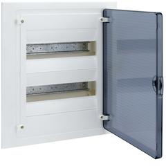 Щит скрытой установки, 24М, с прозрачной дверцей