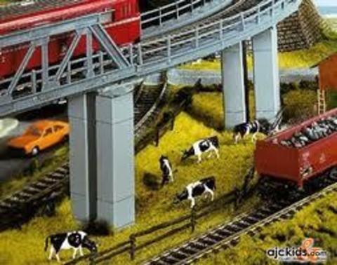 опора Моста - бетонная, (H0)